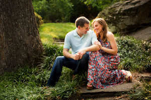 Maymont Park Engagement Photography | Meghan + Jeff  | Click to view full wedding photography post [post: 412]